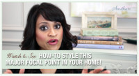 Get Inspired: Styling Fireplace Mantels