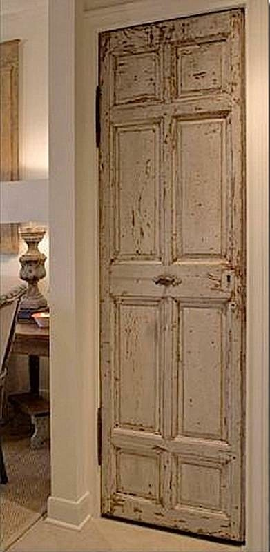 Designing with antique doors village antiques for Old wood doors salvaged