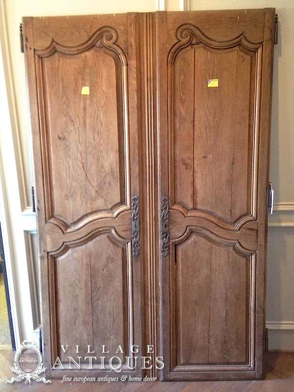 So do you feel you could incorporate antique doors into your decor?  Remember, they don't have to be used - Designing With Antique Doors Village Antiques